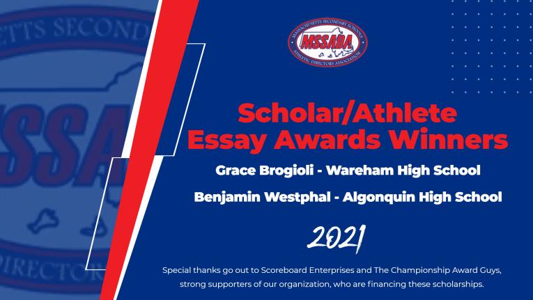 Scholar/Athlete Essay Awards